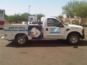 Utility Truck Graphics Wrap Service Body Industrial Aco