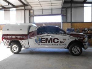 Utility Truck Graphics Wrap Service Body Mapper