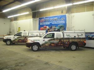 Utility Truck Graphics Wrap Service Body Pest