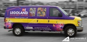 Van Wrap Cargo Graphics Lego