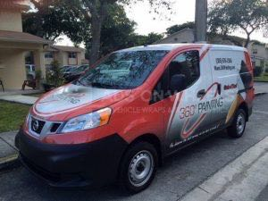 Van Wrap Graphics 360 Ps