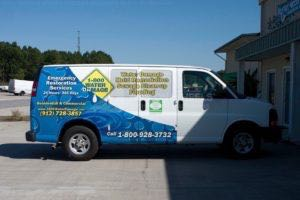 Van Wrap Graphics 800 Restoration Ri8