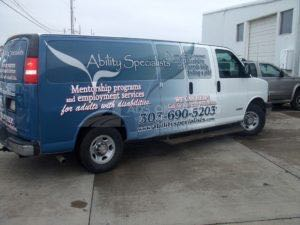 Van Wrap Graphics ABS