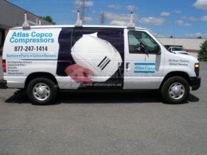 Van Wrap Graphics ACO 1st