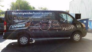 Van Wrap Graphics ACR 2