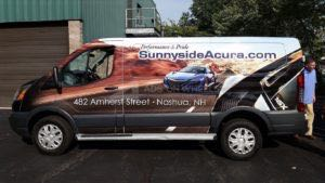 Van Wrap Graphics ACR