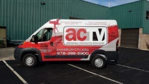 Van Wrap Graphics ACT