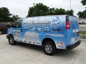 Van Wrap Graphics ACW