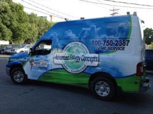 Van Wrap Graphics AEC