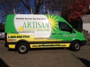 Van Wrap Graphics AEL Sprinter