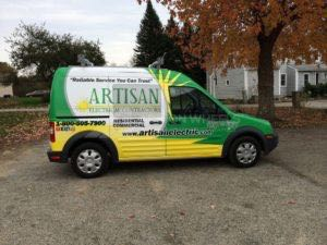 Van Wrap Graphics AEL2