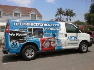 Van Wrap Graphics AES