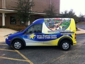 Van Wrap Graphics AFC