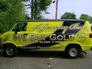 Van Wrap Graphics AJB