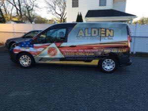 Van Wrap Graphics ALKS