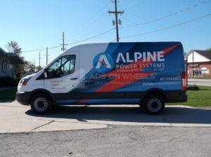 Van Wrap Graphics ALPS