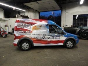 Van Wrap Graphics AMC