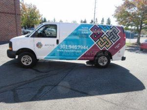 Van Wrap Graphics ANH