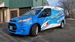 Van Wrap Graphics AOW