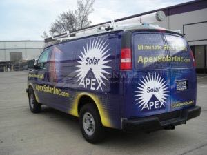 Van Wrap Graphics APR3
