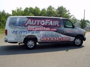 Van Wrap Graphics ATF