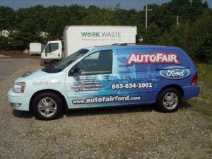 Van Wrap Graphics ATF Wind