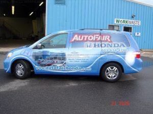 Van Wrap Graphics ATFO