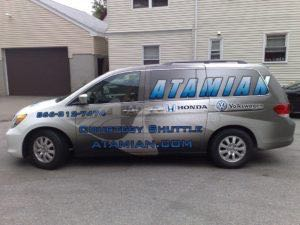 Van Wrap Graphics ATN