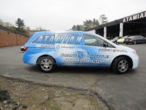 Van Wrap Graphics ATN2