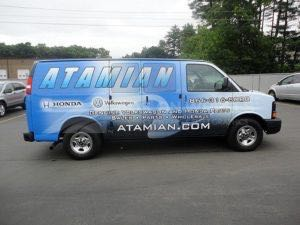 Van Wrap Graphics ATN3