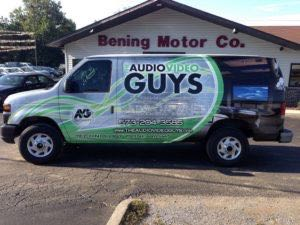 Van Wrap Graphics AVG