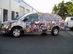 Van Wrap Graphics BEAD