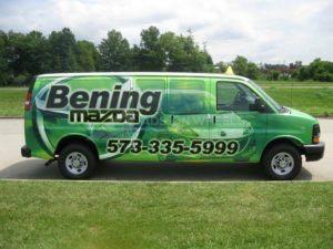 Van Wrap Graphics BEN3