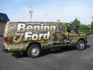 Van Wrap Graphics BEN6