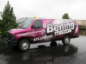 Van Wrap Graphics BEN6 Ford