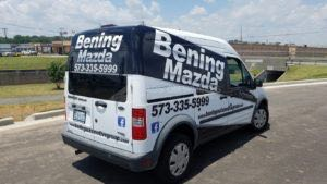 Van Wrap Graphics BENB
