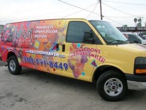 Van Wrap Graphics BHN
