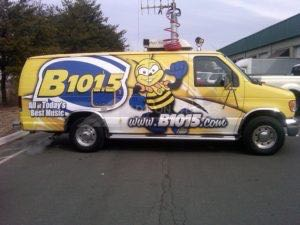 Van Wrap Graphics BQB