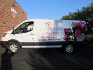 Van Wrap Graphics BRK