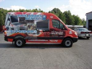 Van Wrap Graphics BRR
