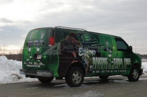 Van Wrap Graphics BSF