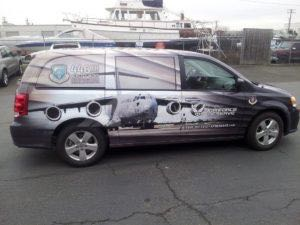 Van Wrap Graphics BWA
