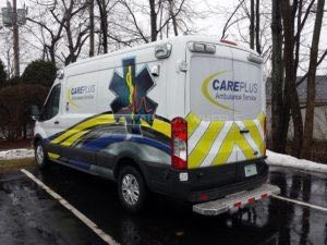 Van Wrap Graphics CARE