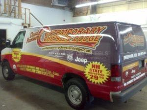 Van Wrap Graphics CCD