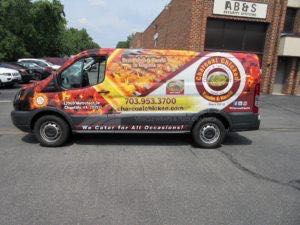 Van Wrap Graphics CCHR