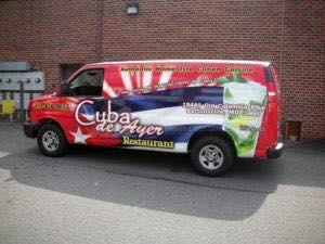 Van Wrap Graphics CDA
