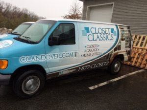 Van Wrap Graphics CLC4