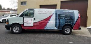 Van Wrap Graphics CLC5