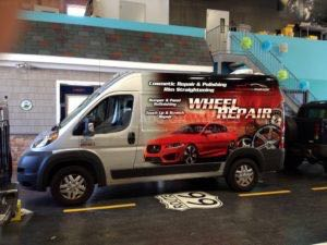 Van Wrap Graphics COP