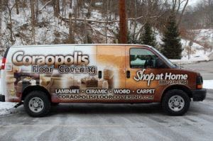 Van Wrap Graphics COR